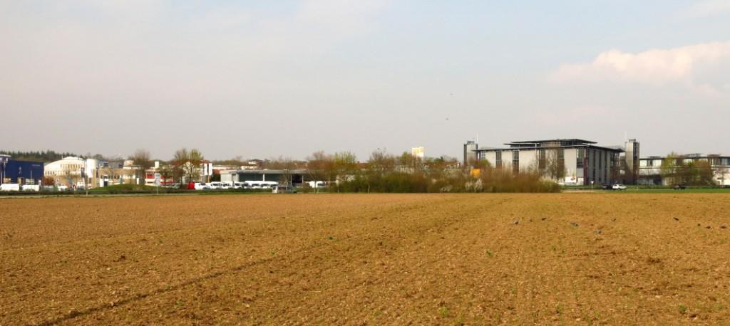 In St. Georgen gehen durch Bebauung immer mehr Ackerflächen verloren (Foto: Christa Holk).