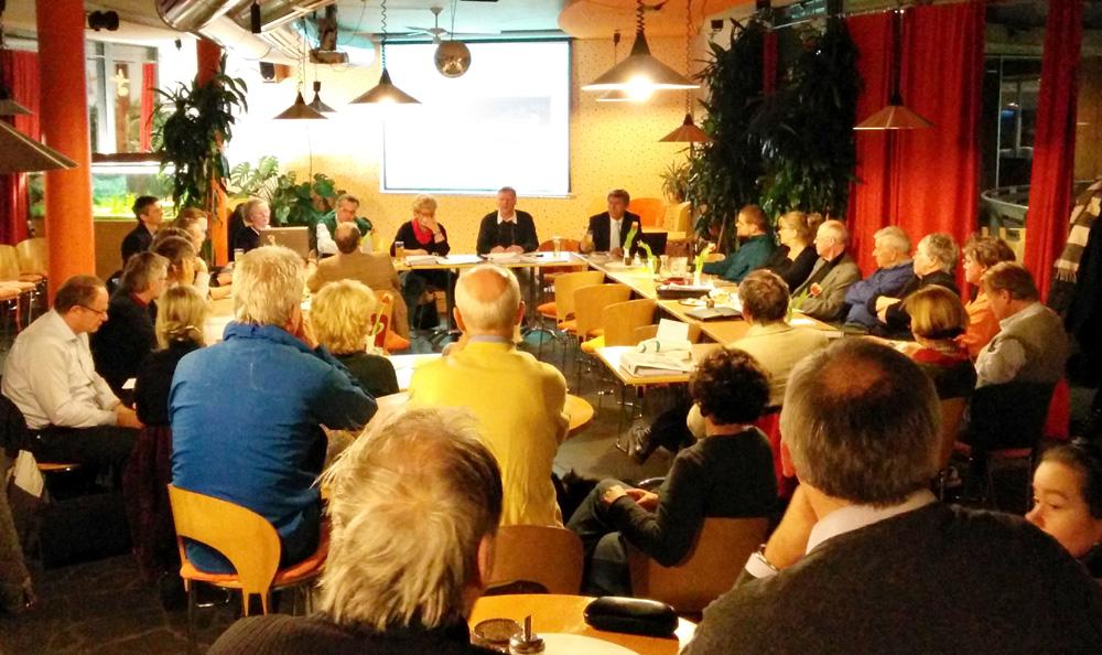 Mitgliederversammlung bzw. Aktiventreffen von Freiburg Lebenswert am Montagabend