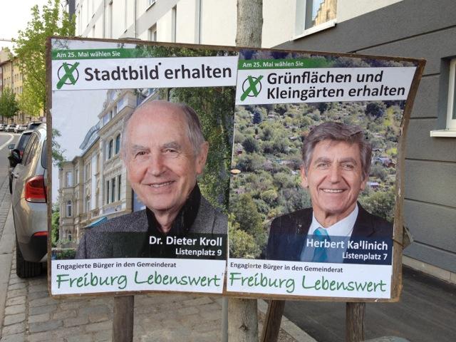 Und: Dr. Dieter Kroll (Listenplatz 9) und Herbert Kallinich (Listenplatz 7).