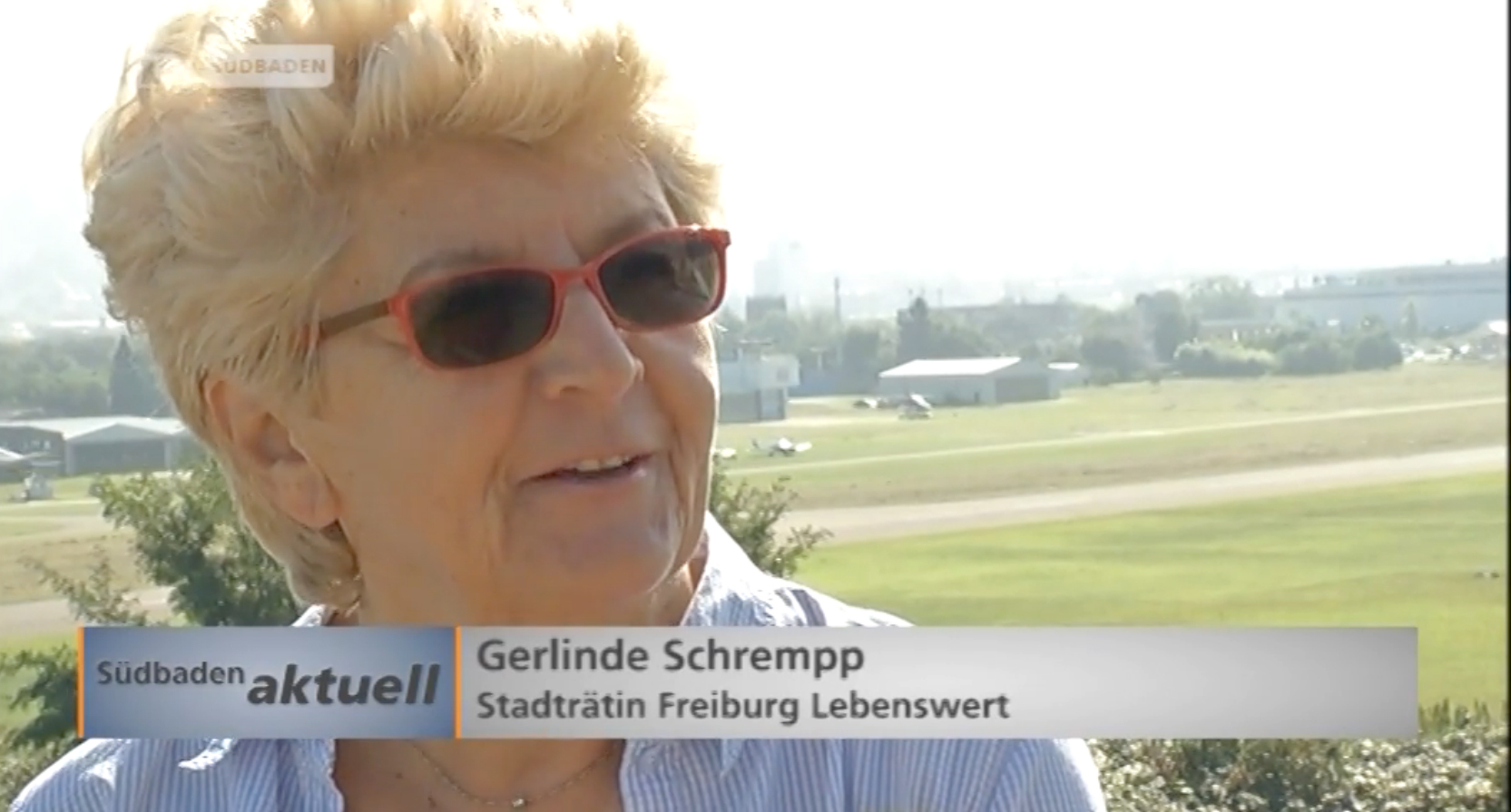 Gerlinde Schrempp bei TV-Südbaden