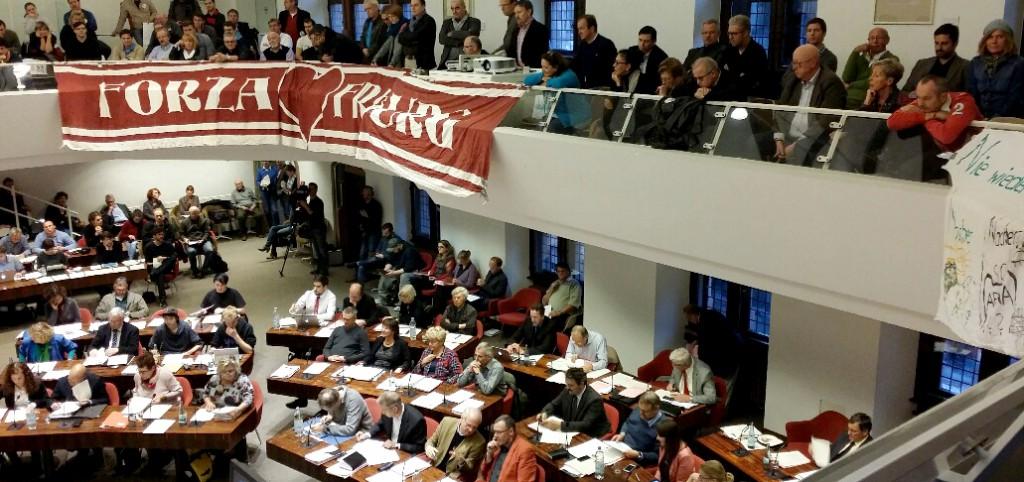 Sitzung im Gemeinderat am 18. November 2914