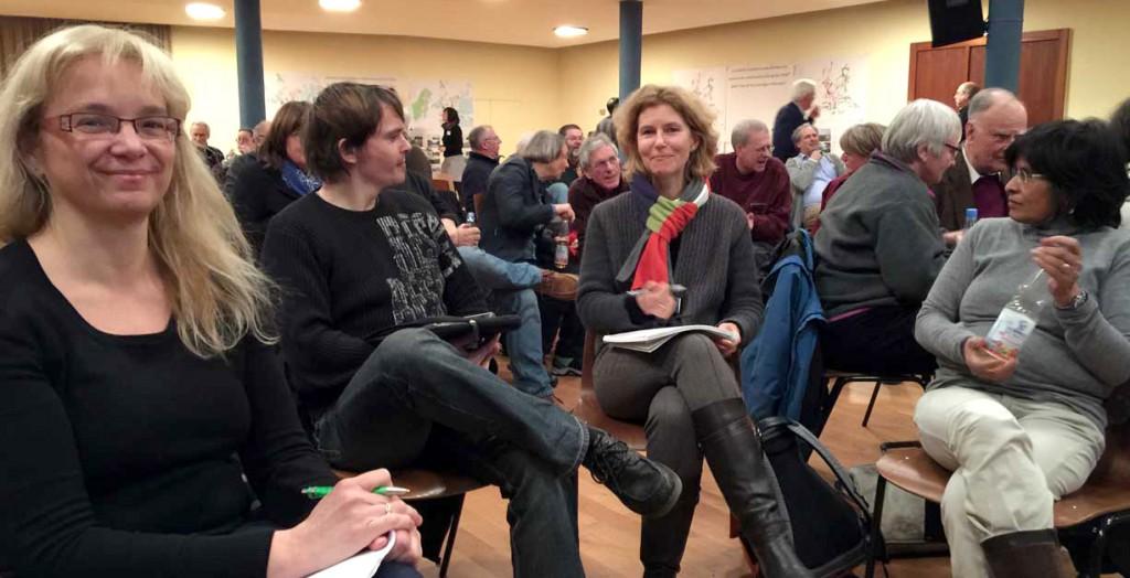 Teilnehmer am Workshop Perspektivplan Freiburg