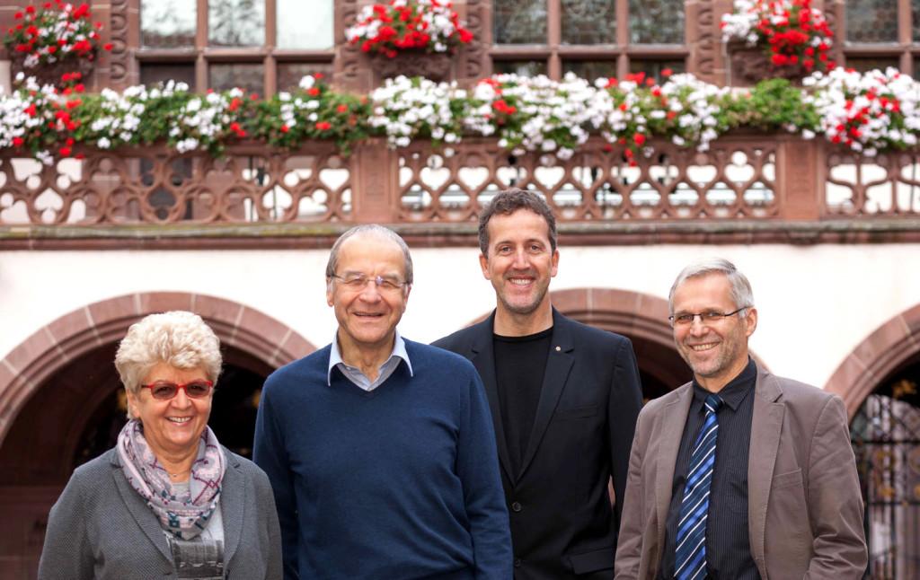 Fraktionsgemeinschaft FL/FF: Gerlinde Schrempp, Prof. Klaus-Dieter Rückauer, Karl-Heinz Krawczyk, Dr. Wolf-Dieter Winkler.
