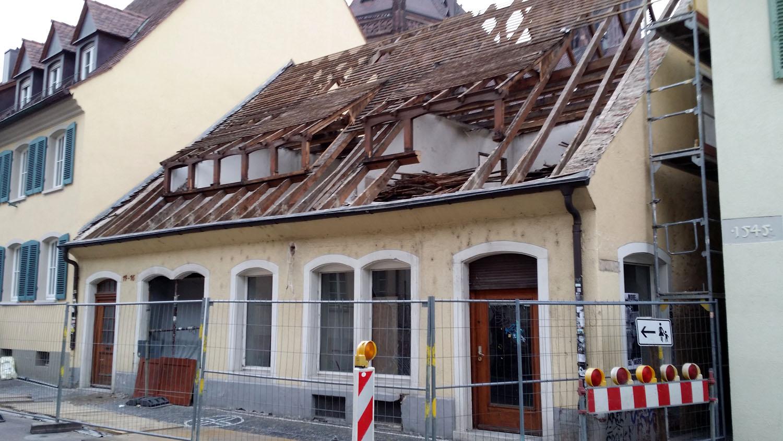 Warum wird die Herrenstraße 14-16 abgerissen?