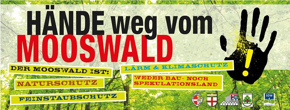 Aufruf/Plakat der AG Mooswald