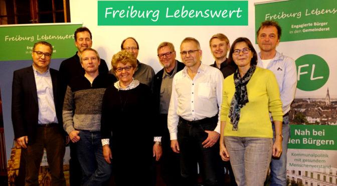 Freiburg Lebenswert nominiert die Kandidaten für die Kommunalwahl