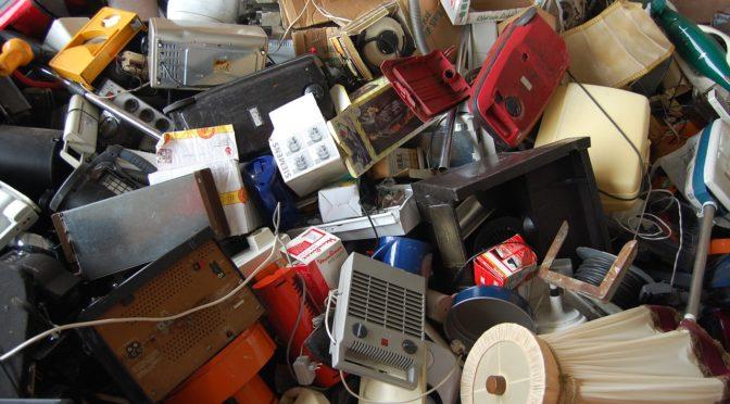 Müll- und Umweltprobleme in Accra-Agbogbloshie