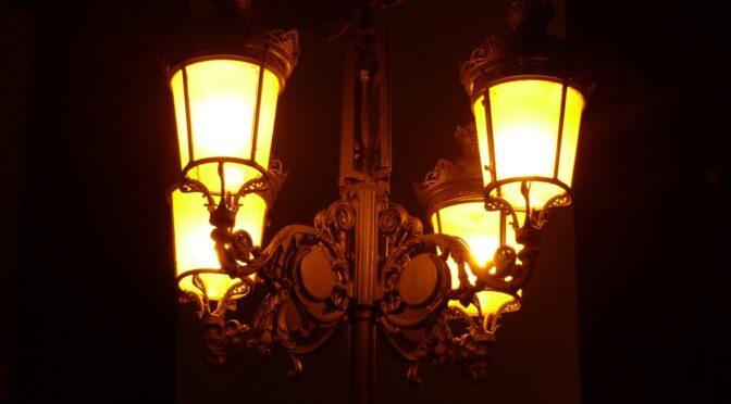 Zum Thema öffentliche Straßenbeleuchtung