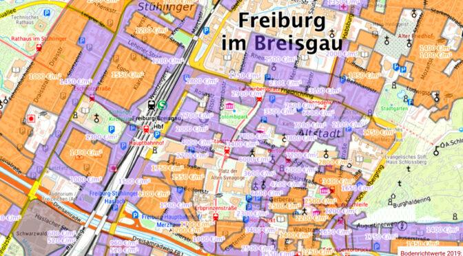 Die Grundsteuer wird in Freiburg enorm steigen